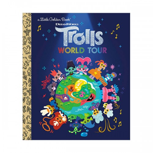 Little Golden Book : DreamWorks Trolls World Tour (Hardcover)