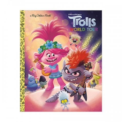 Big Golden Book : DreamWorks Trolls World Tour (Hardcover)