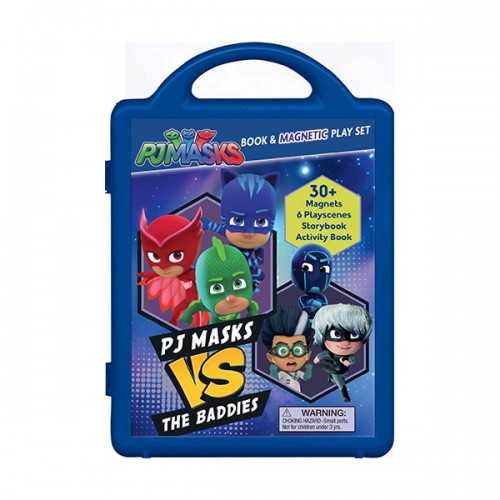 PJ Masks Vs the Baddies : Magnetic Play Set