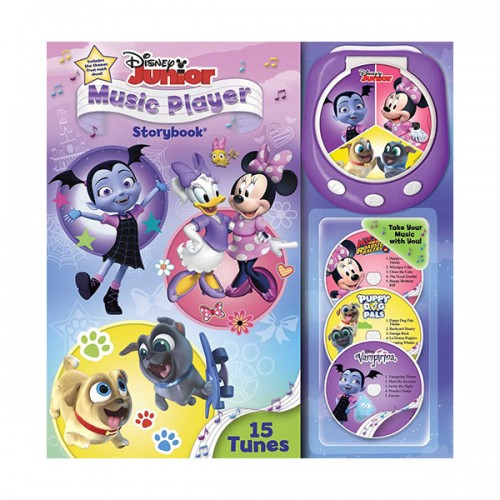 Disney Junior Music Player Storybook (Hardcover)
