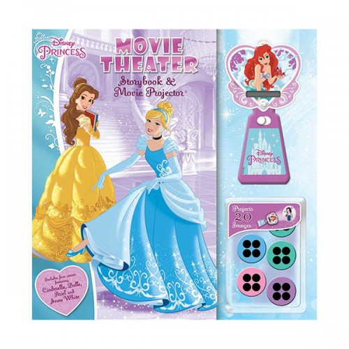 Disney Princess: Movie Theater: Storybook & Movie Projector (Hardcover)
