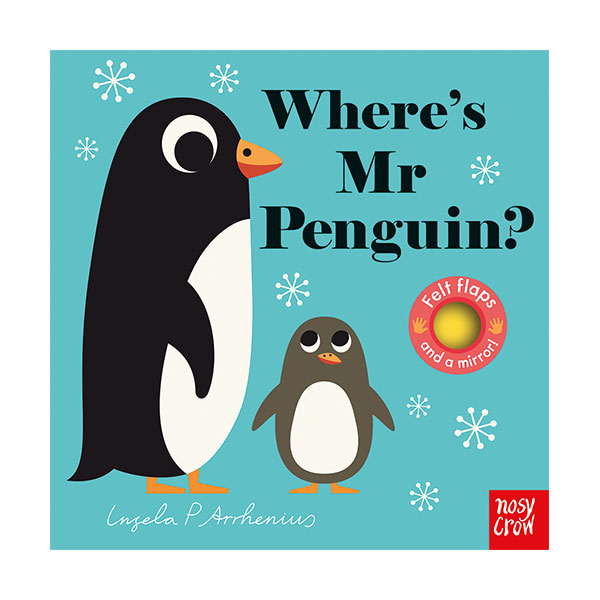 Where's Mr Penguin? : Felt Flap Book (Board Book, 영국판)
