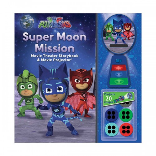 PJ Masks : Super Moon Mission Movie Theater & Storybook (Hardcover)