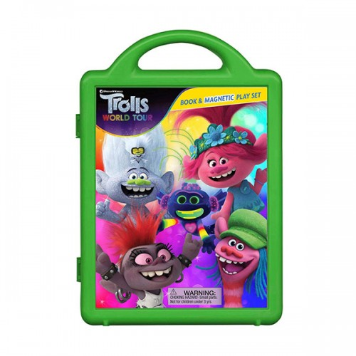 DreamWorks Trolls World Tour : Magnetic Play Set
