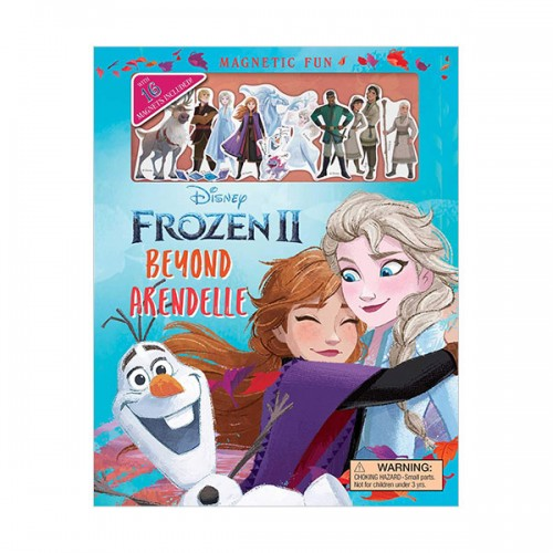 Magnetic Fun: Disney Frozen 2: Beyond Arendelle (Hardcover+Magents)
