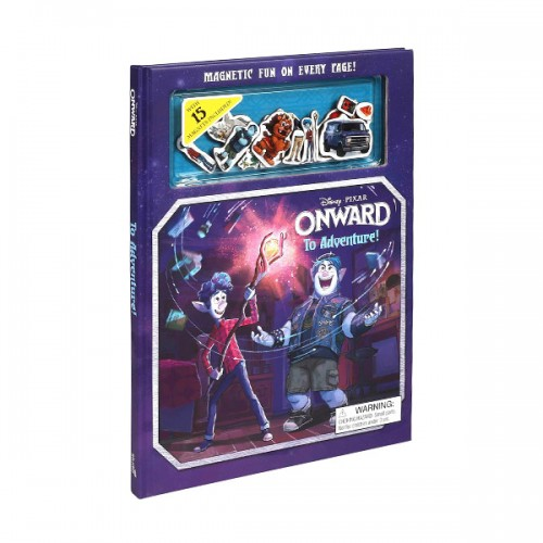 Magnetic Fun: Disney Pixar Onward: To Adventure! (Hardcover+Magents)