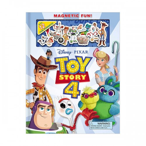 Magnetic Fun: Disney Pixar: Toy Story 4 (Hardcover+Magents)