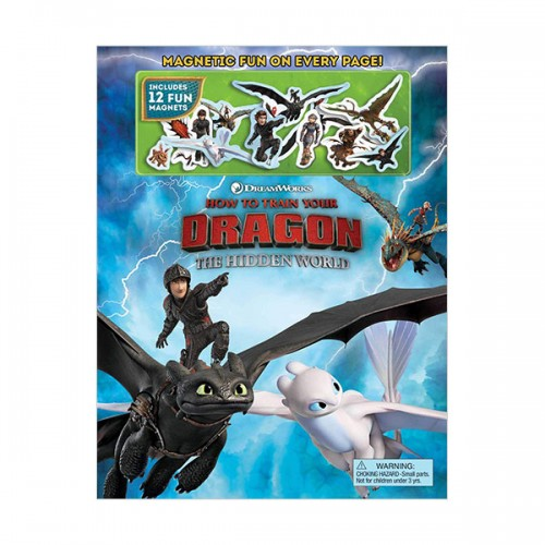 DreamWorks How to Train Your Dragon : The Hidden World Magnetic Fun (Hardcover)