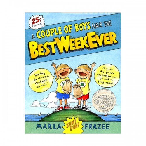 [2009 칼데콧] A Couple of Boys Have the Best Week Ever (Hardcover, Caldecott)