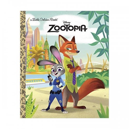 Disney Zootopia Little Golden Book (Hardcover)