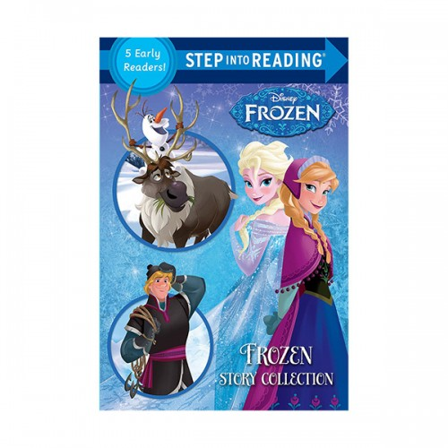 Step into Reading Step 1-2: Disney Frozen Story Collection (Paperback, 5종합본)(CD없음)