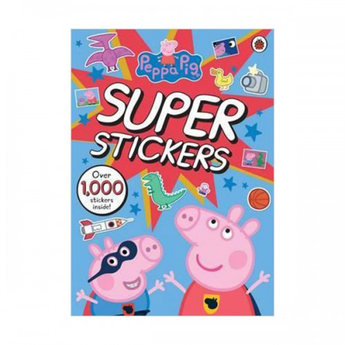 Peppa Pig Super Stickers Activity Book (Paperback, 영국판)