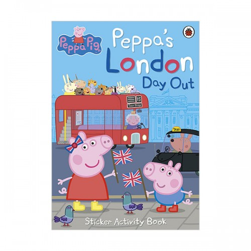 Peppa Pig : Peppa's London Day Out Sticker Activity Book (Paperback, 영국판)