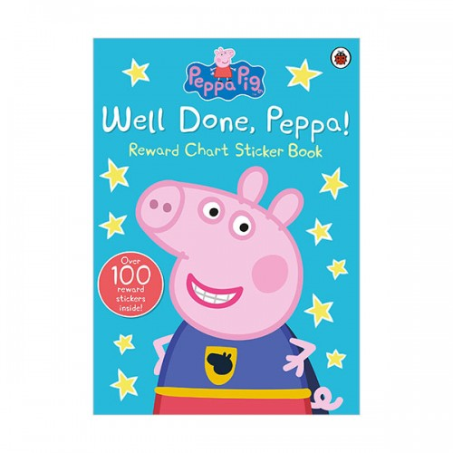 ★키즈코믹콘★Peppa Pig : Well Done, Peppa! Sticker Book (Paperback, 영국판)