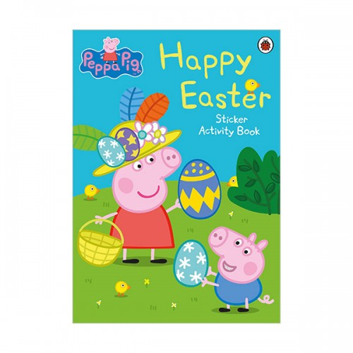 Peppa Pig : Happy Easter Sticker Book (Paperback, 영국판)