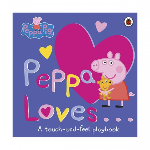 Peppa Pig : Peppa Loves (Board book, 영국판)
