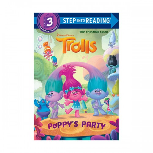 Step Into Reading 3 : DreamWorks Trolls : Poppy's Party (Paperback)