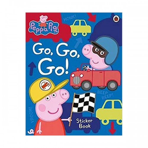 Peppa Pig : Go, Go, Go!: Vehicles Sticker Book (Paperback, 영국판)