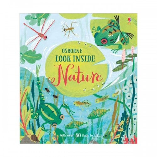 Look Inside : Nature (Board book, 영국판)