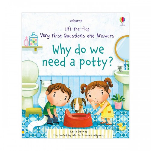 Very First Lift-the-Flap Questions & Answers : Why Do We Need A Potty? (Board book, 영국판)
