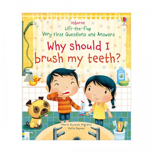 Very First Lift-the-Flap Questions & Answers : Why Should I Brush My Teeth? (Board book, 영국판)