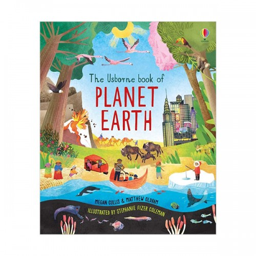 The Usborne Book of Planet Earth (Hardcover, 영국판)