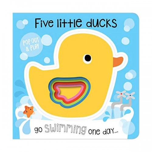 Pop-Out and Play Five Little Ducks (Board book, 영국판)
