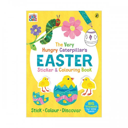 The Very Hungry Caterpillar's Easter Sticker and Colouring Book (Paperback, 영국판)