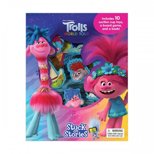 DreamWorks Trolls World Tour : Stuck on Stories (Board Book)