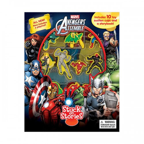 Marvel Avengers Assemble : Stuck on Stories (Board Book)
