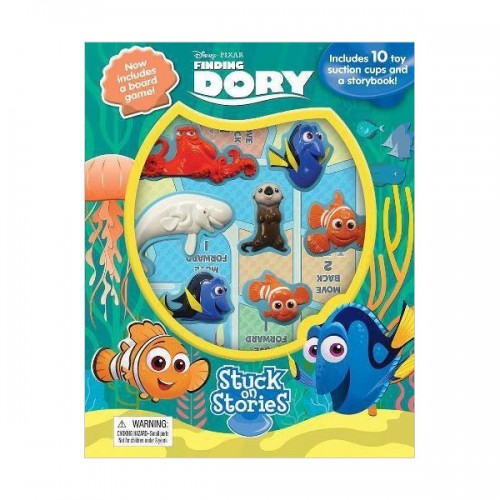 Disney Finding Dory : Stuck on Stories (Board Book)