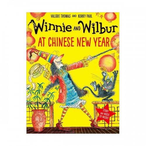 Winnie and Wilbur : At Chinese New Year (Book&CD, 영국판)