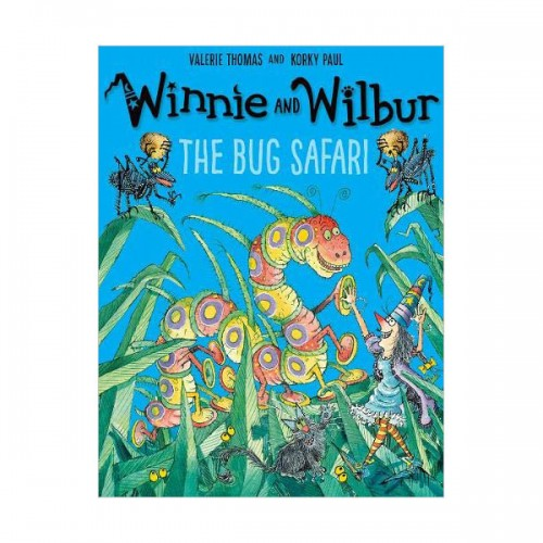 Winnie and Wilbur : The Bug Safari (Book&CD, 영국판)