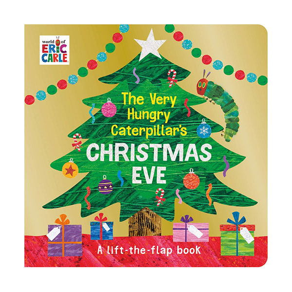 The Very Hungry Caterpillar's Christmas Eve (Board book, 영국판)