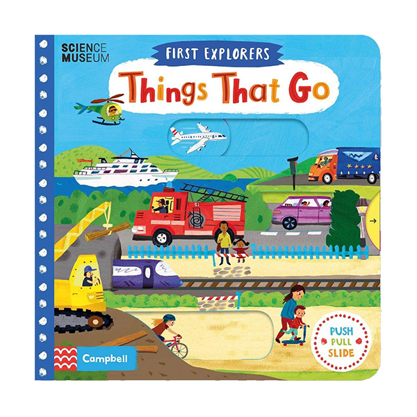 First Explorers : Things That Go (Board book, 영국판)