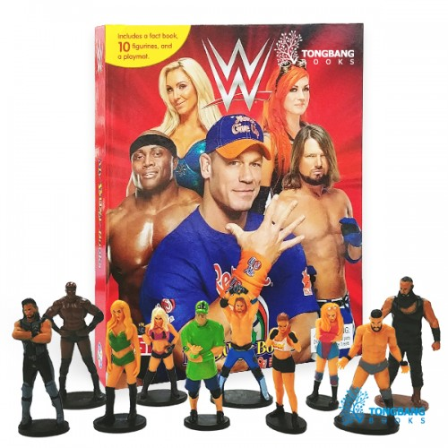 My Busy Books : WWE (Board book)