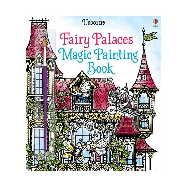 Fairy Palaces Magic Painting Book (Paperback)