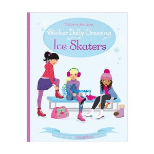 Usborne Activities Sticker Dolly Dressing Ice Skaters (Paperback, 영국판)