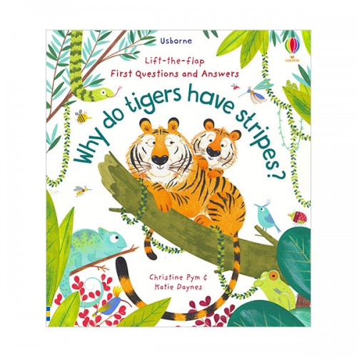 Lift-the-flap First Questions and Answers : Why Do Tigers Have Stripes? (Board book, 영국판)