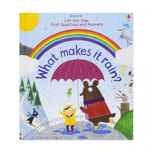 Lift-the-flap First Questions and Answers : What Makes it Rain? (Board book, 영국판)