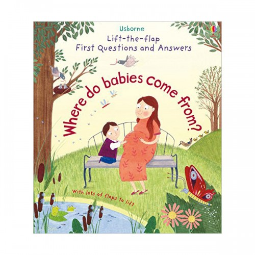 Lift-the-flap First Questions and Answers : Where Do Babies Come from? (Board book, 영국판)
