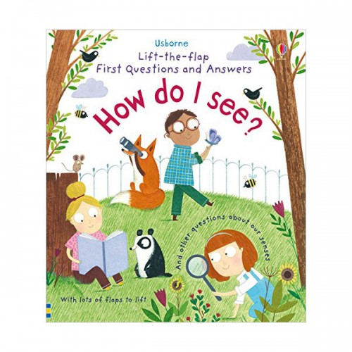 Lift-the-flap First Questions and Answers : How Do I See? (Board book, 영국판)