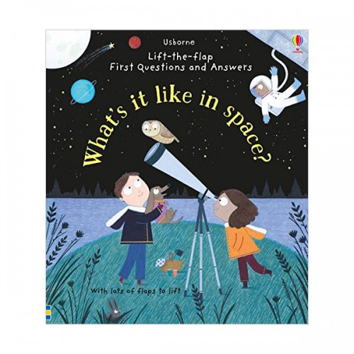 Lift-the-flap First Questions and Answers : What's it Like in Space? (Board book, 영국판)