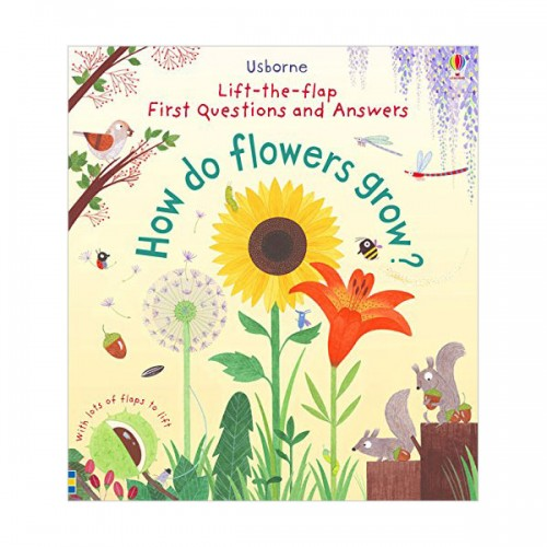 Lift-the-flap First Questions and Answers : How Do Flowers Grow? (Board book, 영국판)
