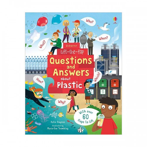 Lift-the-flap Questions and Answers : About Plastic (Board book, 영국판)