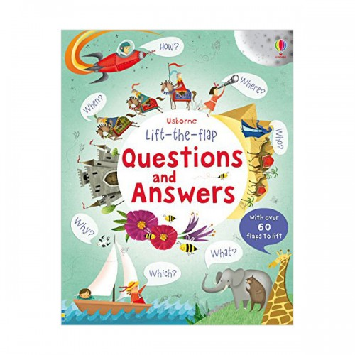 Lift-the-flap Questions and Answers  (Board book, 영국판)