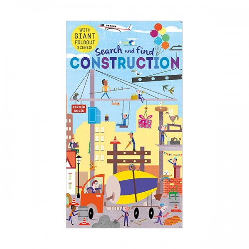 Search and Find Construction (Hardcover, 영국판)