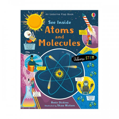See Inside : Atoms and Molecules (Hardcover, 영국판)