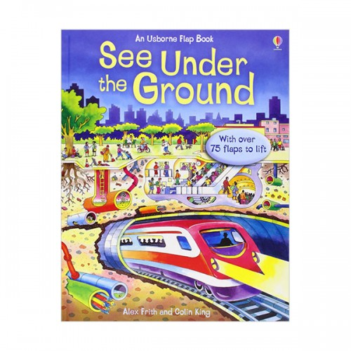 See Inside : Under the Ground (Hardcover, 영국판)