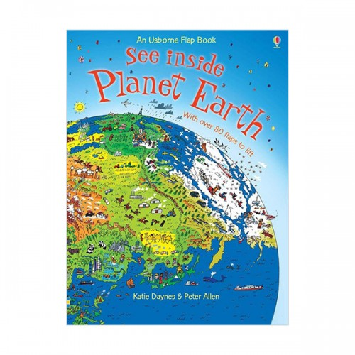 See Inside : Planet Earth (Hardcover, 영국판)